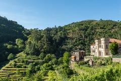 Slott av Sistelo royaltyfria foton
