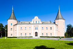 Slott av Sokolov Arkivbild