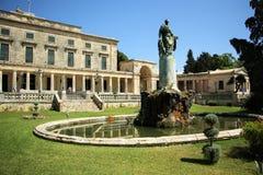 Slott av St Michael och St George i Korfu Royaltyfri Bild