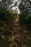Slott av Tamarit Royaltyfri Bild