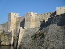 Slott av Tenedos royaltyfri fotografi