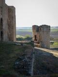 Slott av Tijeros del Valle, Valladolid, Castilla y Leon, Spanien Royaltyfria Foton