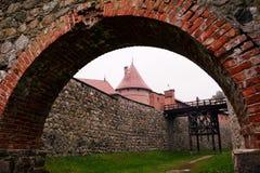 Slott av Trakai Royaltyfri Fotografi