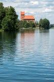 Slott av Trakai royaltyfri bild