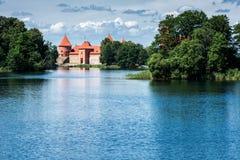 Slott av Trakai arkivbilder