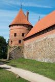 Slott av Trakai arkivfoton
