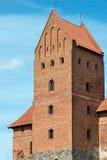 Slott av Trakai arkivfoto