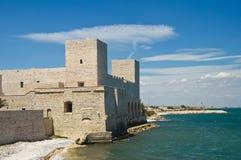 Slott av tranien Puglia italy Arkivfoton