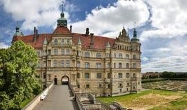 Slott av Tyskland för GÃ-¼strow Royaltyfri Foto