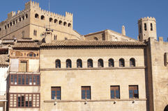 Slott av Valderrobres Royaltyfri Foto