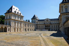Slott av Valentino, Turin Royaltyfri Foto