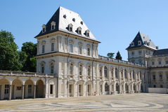 Slott av Valentino, Turin Fotografering för Bildbyråer