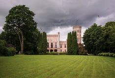 Slott av Vecauce Royaltyfri Foto