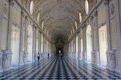Slott av Venaria, Turin arkivfoto