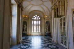Slott av Venaria, Turin royaltyfri bild