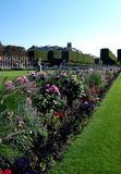 Slott av Versailles trädgårdar Royaltyfri Bild