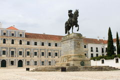 Slott av Vila Vicosa Arkivbild