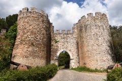 Slott av Vila Vicosa, Alentejo region, royaltyfri bild