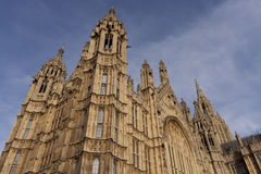 Slott av Westminster Arkivbilder