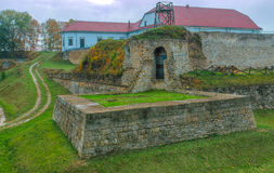 Slott av Zbarazh, Ukraina, Ternopil Oblast Royaltyfri Bild