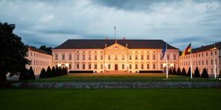 Slott Bellevue, Berlin, Tyskland Royaltyfri Fotografi