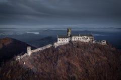 Slott Bezdez i Tjeckien royaltyfri foto