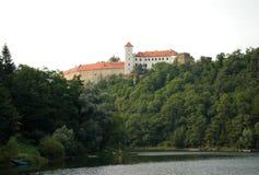 Slott Bitov, tjeckisk republik, Europa Arkivfoton