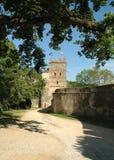Slott Bitov, tjeckisk republik, Europa Royaltyfri Bild