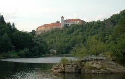 Slott Bitov, tjeckisk republik, Europa Arkivbild