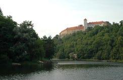 Slott Bitov, tjeckisk republik, Europa Arkivbilder