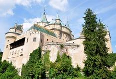 Slott Bojnice, Slovakien, Europa Royaltyfri Bild