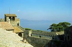 Slott Bracciano, Italien Royaltyfri Bild