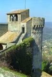 Slott Bracciano, Italien Arkivfoto