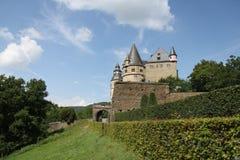 Slott Burresheim Arkivbild