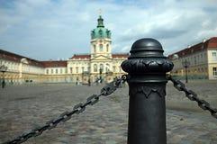 slott charlottenburg Arkivfoto
