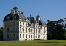 slott cheverny france Royaltyfri Foto