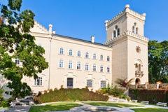 Slott Chyse, Bohemia, Tjeckien, Europa Arkivbild