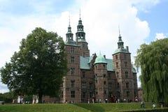 slott copenhagen Arkivbild