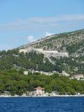 slott croatia Royaltyfri Fotografi