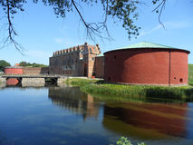 Slott del castello o di Malmohus di Malmo a Malmo, Svezia del sud fotografia stock