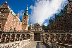 slott denmark frederiksborg Arkivbild