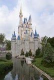 slott disney Arkivbild