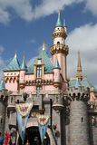slott disneyland Arkivbild