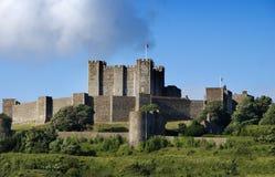slott dover Arkivfoton