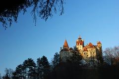 slott dracula s Royaltyfri Fotografi
