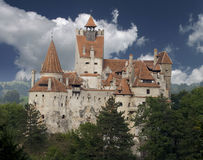 slott dracula transylvania Royaltyfri Bild