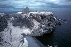 slott dunnottar scotland Royaltyfri Bild