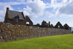 slott dunnottar scotland Royaltyfria Bilder