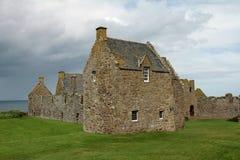 slott dunnottar scotland Royaltyfria Foton