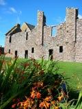 slott dunottar scotland Royaltyfri Bild